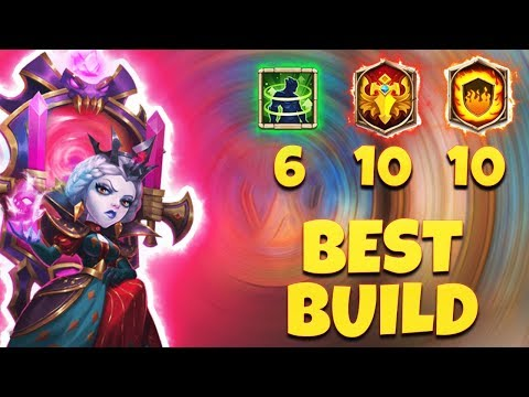 Bloody Mary | 10 Flame Guard | 10 Blade Dance | BEST BUILD | CASTLE CLASH