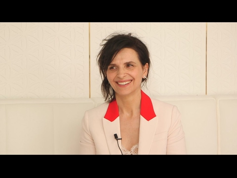 Cannes 2017: Juliette Binoche lets the sunshine in