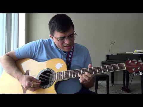 Aage Bhi Jaane Na Tu Asha Bhosle guitar chords and lead lesson by Suresh