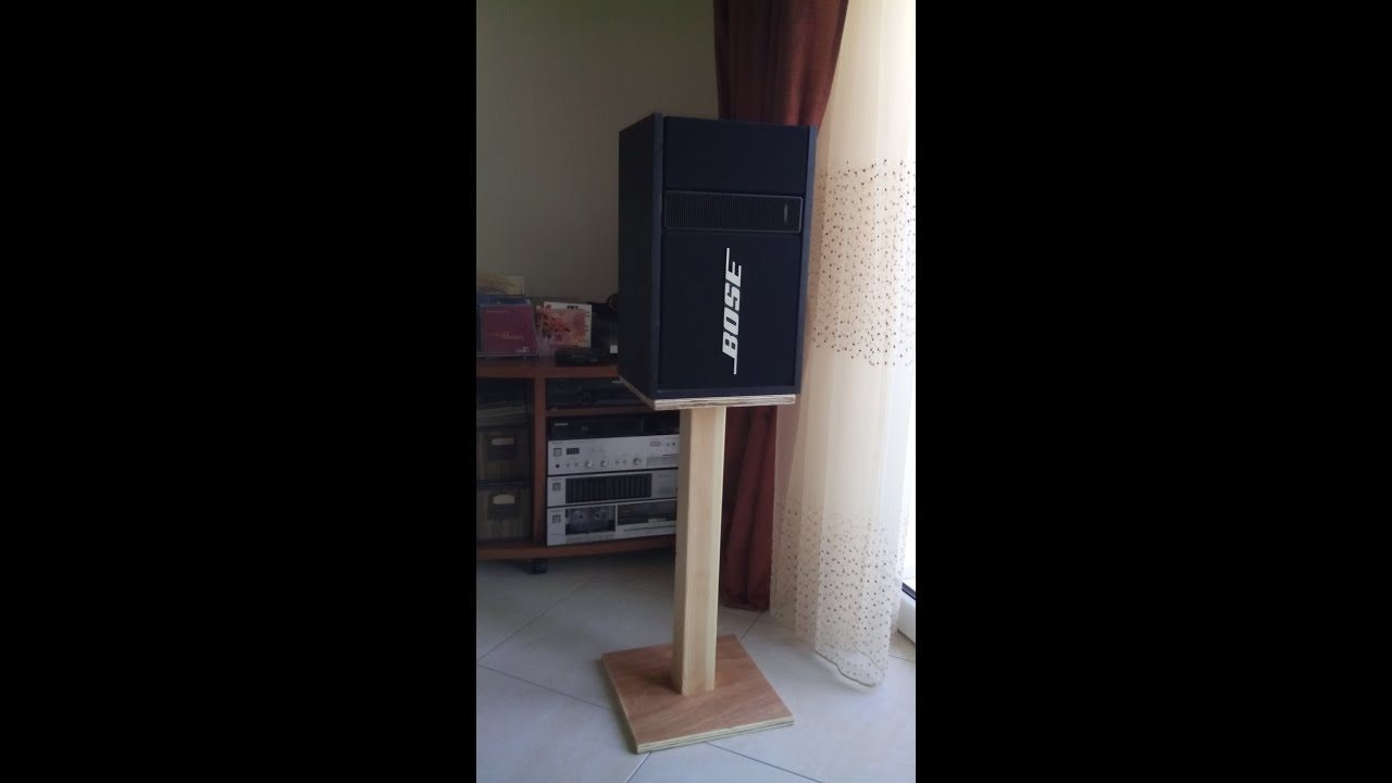 how to make diy speaker stands low cost - youtube