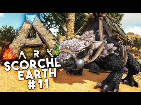 ARK Scorched Earth DLC: Episode 11 - THE THORNY DRAGON! (Ark: Survival Evolved)