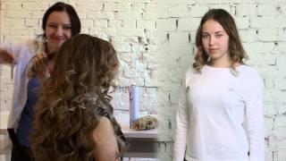Трессы на заколках: как крепить и прически от интернет магазина Русские волосы. На короткие пряди.(, 2015-07-21T07:25:08.000Z)