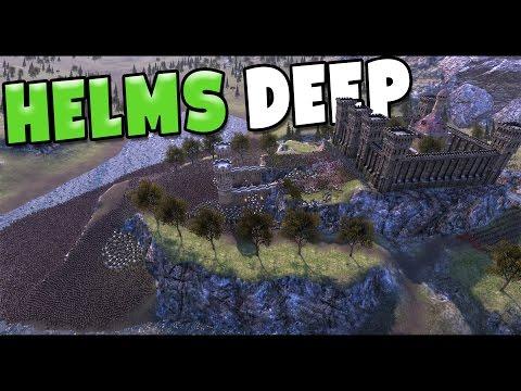 Ultimate Epic Battle Simulator - LOTR Castle Siege! - 50,000 Orcs vs 8000 Humans - UEBS Gameplay