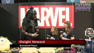 Dwight Howard Dresses Up for Marvel LIVE! at San Diego Comic-Con 2015
