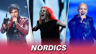 Eurovision NORDIC Songs (2011-2021)   My Top 3 By Year