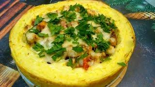 Картофельная запеканка с курицей! | Простые рецепты