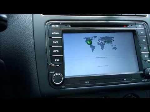 Магнитола для VW на Android 4.4