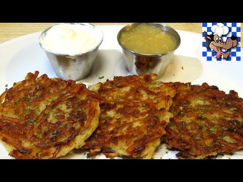 Classic Potato Pancakes - How to make Potato Pancakes - Potato Latke Recipe