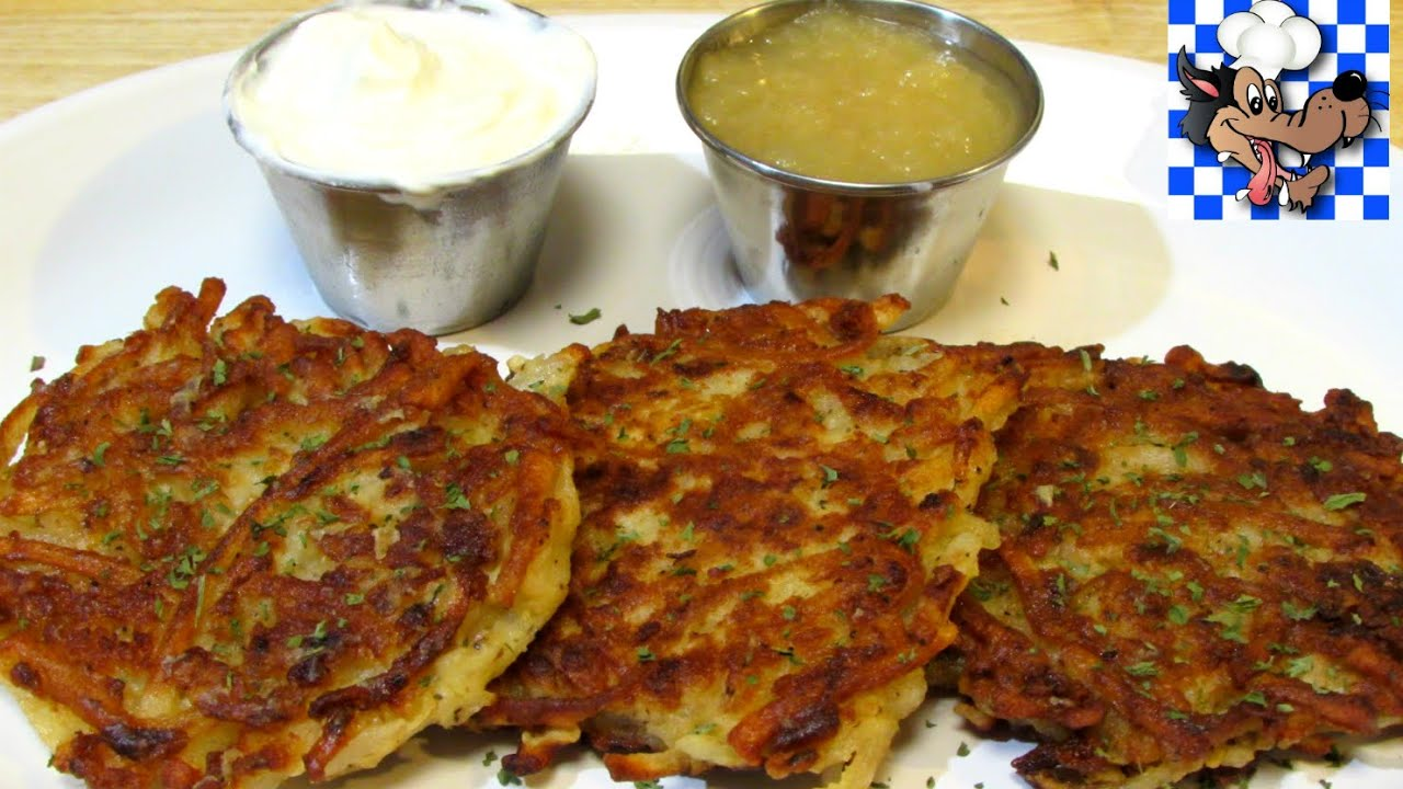Classic potato pancakes how to make potato pancakes potato latke classic potato pancakes how to make potato pancakes potato latke recipe youtube ccuart Image collections