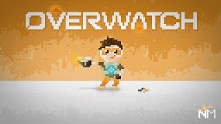 Tracer (Overwatch) Fan Art | Desenînd cu din I