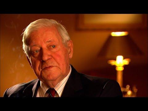 Altkanzler Helmut Schmidt über seinen Freund Henry Kissinger (dbate-Interview)