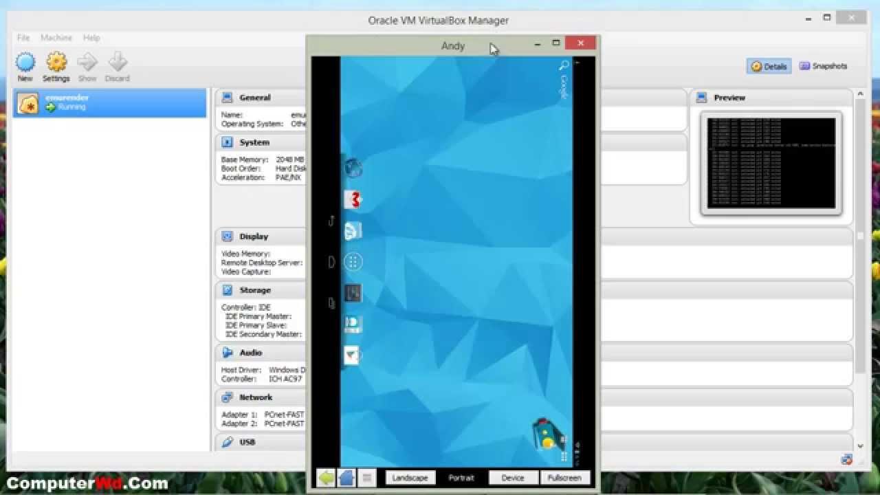 برنامج Andy الجديد لتشغيل تطبيقات الاندرويد علي الكمبيوتر - عالم