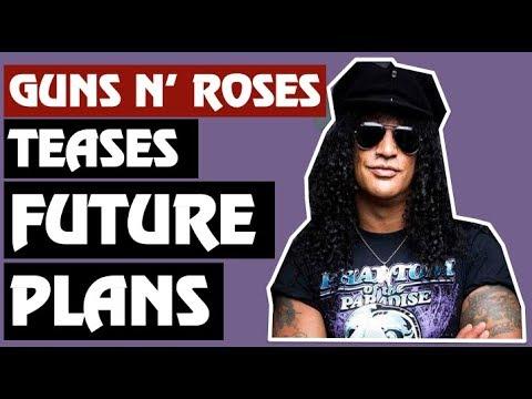 Guns N' Roses News:  Axl Rose, Management Tease Future Plans!