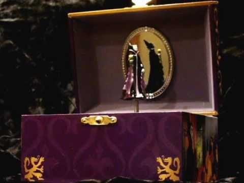 DISNEY MALEFICENT MUSICAL JEWELRY BOX YouTube