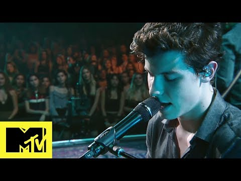 Shawn Mendes Performs 'Stitches' For MTV...