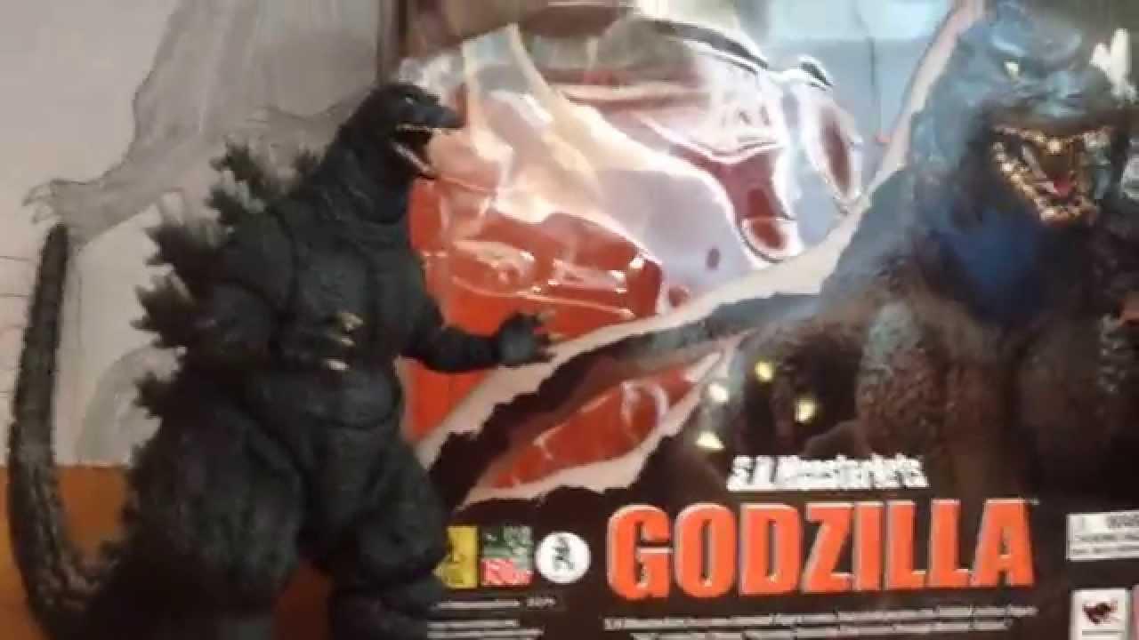 Bandai SH Monsterarts Godzilla 1995 birth version review ... Godzilla 1995 Birth