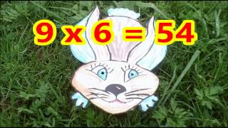 Apprendre la table de multiplication de 9 au ce2
