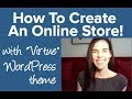 How To Create A WordPress Website With ECOMMERCE (Professional)