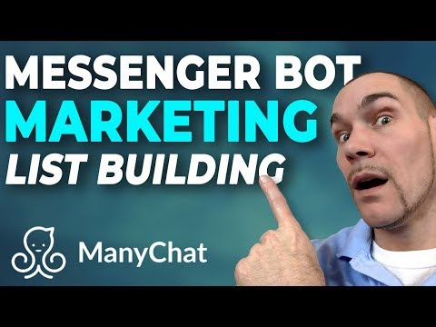 Messenger Bot Marketing LIST BUILDING Free Facebook ad to Chatbot Tutorial