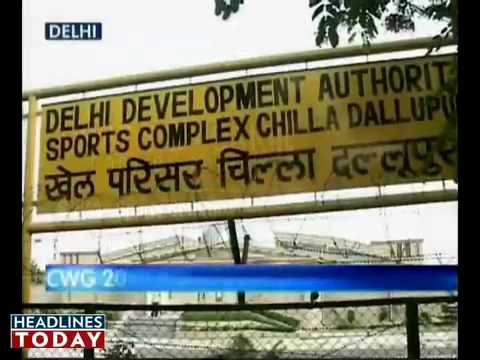 DDA's corruption @ CWG. Headlines Today for COMMONWEALTH GAMES 2010