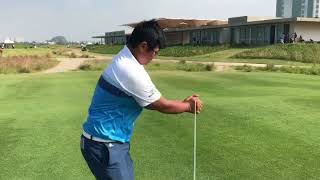 Golf Tournament warmup by Golfefit