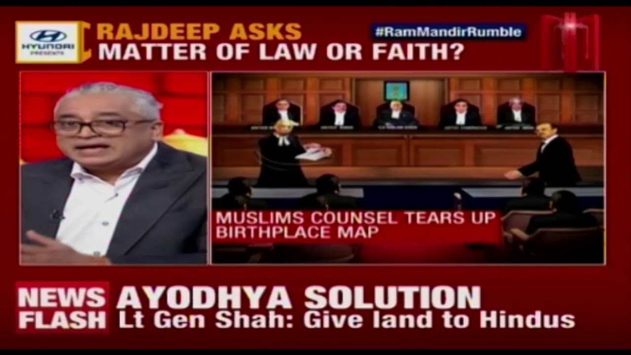 Download Will SC Verdict End Politics Over Ayodhya? | News Today With Rajdeep