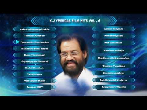 K J Yesudas Malayalam Hits | Malayalam Songs | Full Audio Jukebox Vol-4
