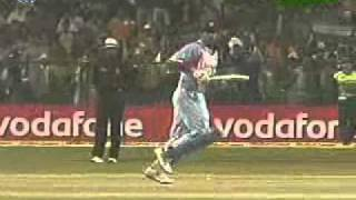 India vs Pakistan 4th odi Indian Oil Cup 2007 Pt4