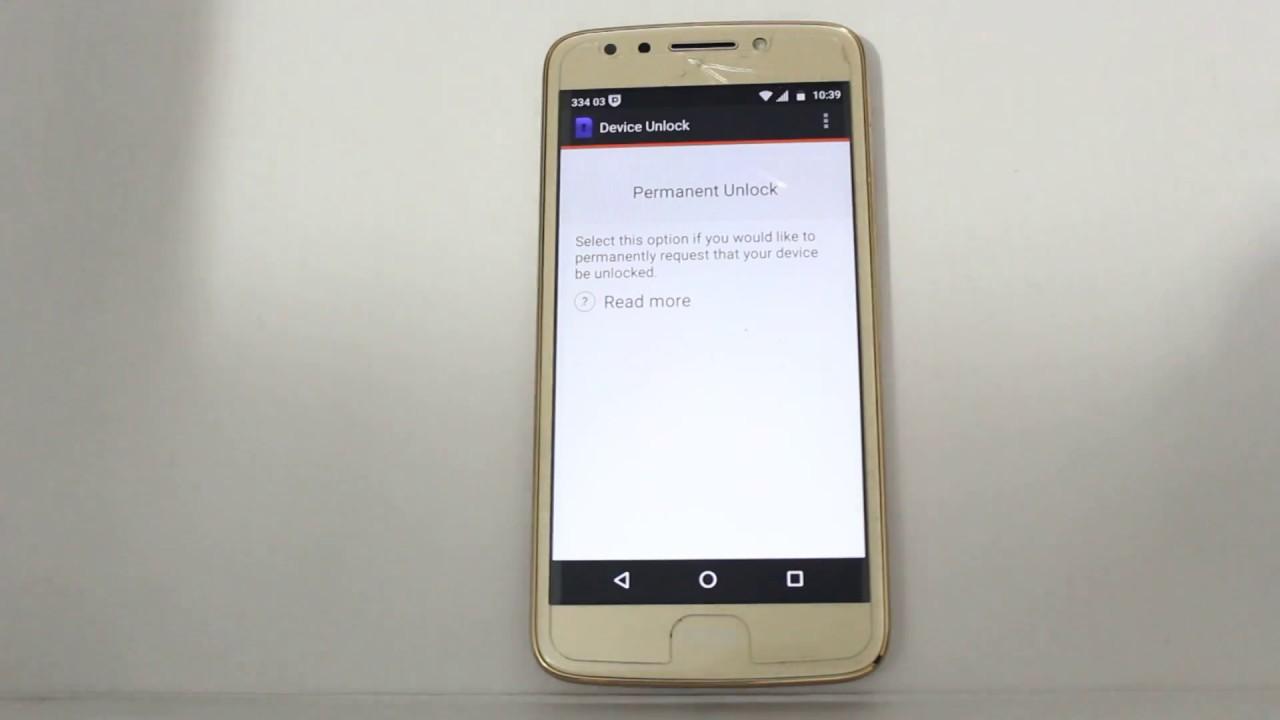 Moto E4 XT1765 Metro PCS Unlock Via Device Unlock App