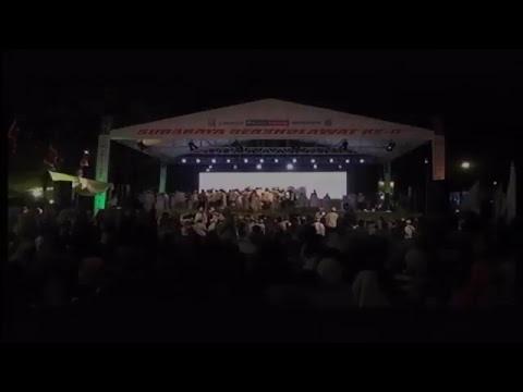 Live Surabaya Bersholawat Ke-6 Bersama Habib Syech