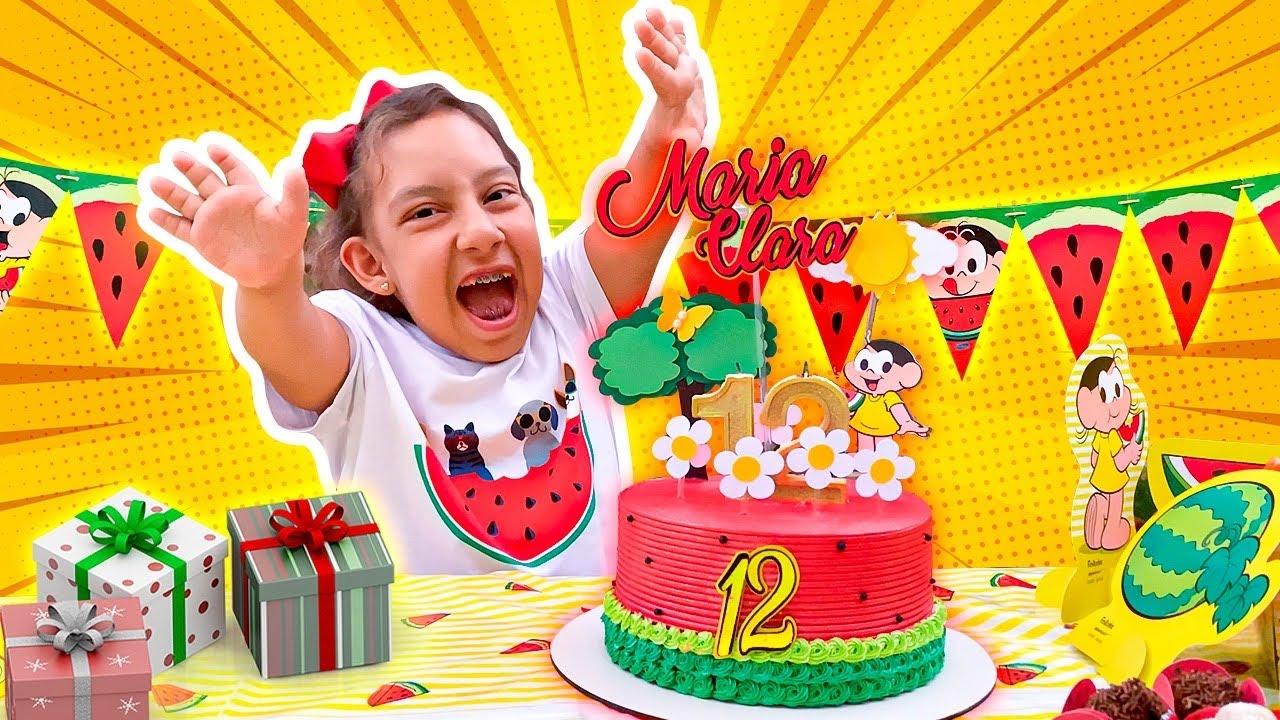 Maria Clara e seu ANIVERSÁRIO SURPRESA de 12 anos (Happy Birthday Surprise Party) MC Divertida