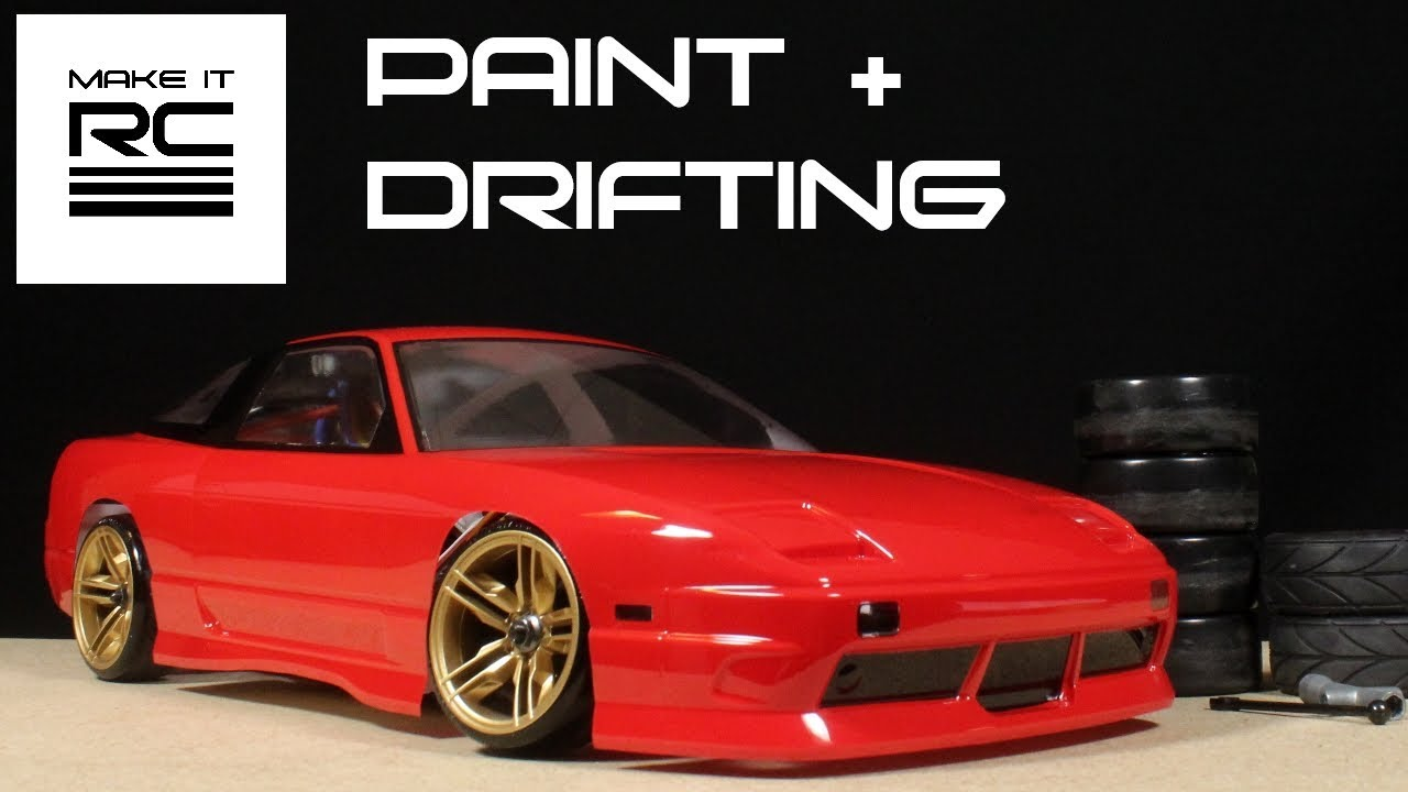 Budget Rc Drift Build Part 3 Painting Mounting Body And Drifting