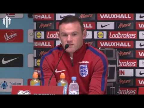 Wayne Rooney Reacts to Being DROPPED! | Slovenia vs England Press Conference