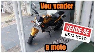 CB 300R - Vou vender a moto.