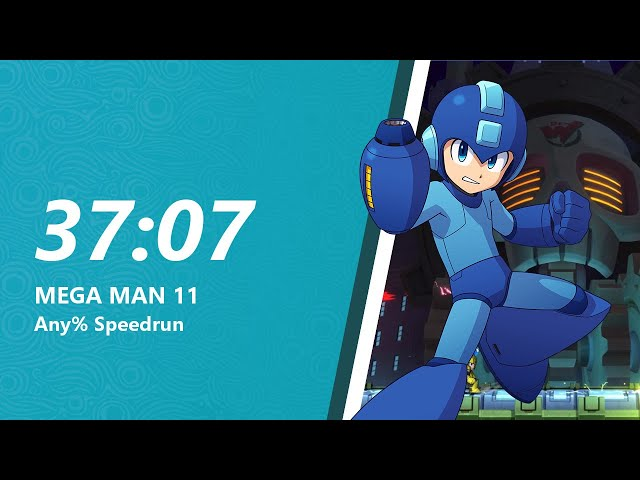 Mega Man 11 Any% Speedrun in 37:07