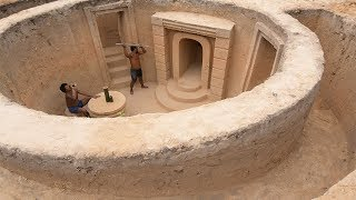 Building Most Fantastic Underground House By Craftsmanship