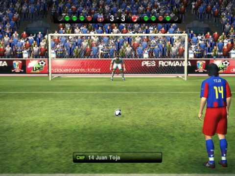 steauadinamo penalty shootout pes 2010 youtube