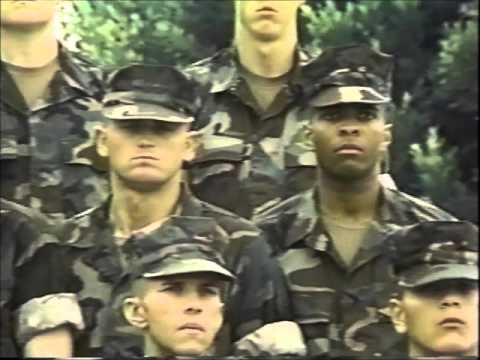 Boot Camp - USMC, 1stRTBn, Alpha Co,  Plt  1121, 28 July 1995.