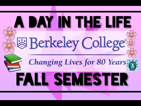 A Day In The Life | Berkeley College Student (Fall Semester) 2016