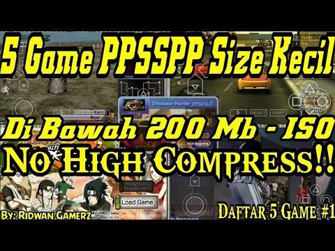 download game ppsspp iso ukuran kecil