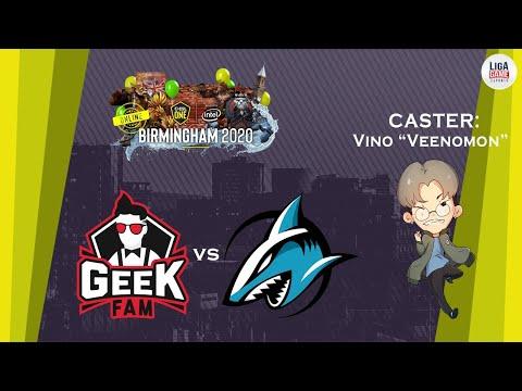 GEEKFAM Vs ADROIT (BO3) | ESL One Birmingham 2020 - Online: Southeast Asia | DOTA 2 LIVE INDONESIA