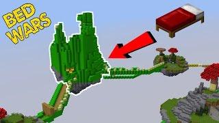 Building a HUGE FORT in BEDWARS!
