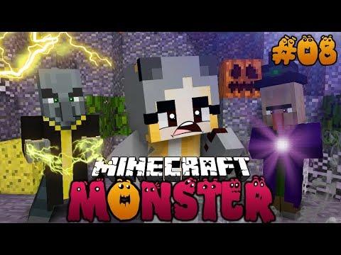 WAS PASSIERT AN HALLOWEEN IN DER MONSTER STADT?! ✿ Minecraft MONSTER #08 [Deutsch/HD]