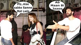 Hrithik Roshan TRIES To PERSUADE His Ex Wife Sussanne Khan After A Small FIGHT In Public