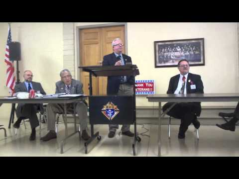 KC Eastern District o f WI,  Marquette Province, Master Meeting Sept 22 2012 Part 3