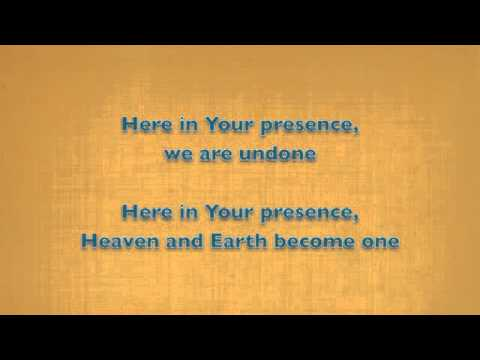 Here in Your Presence (New Life Worship) - instrumental (karaoke)