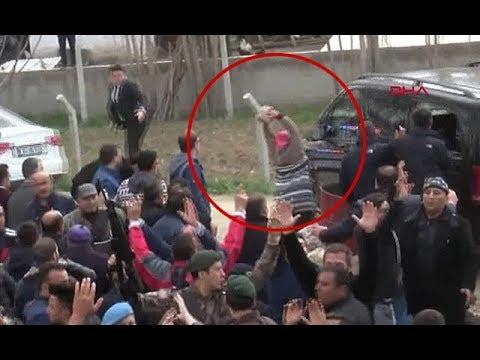 Kılıçdaroğlu'nun zırhlı aracı böyle taşlandı
