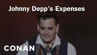 How Johnny Depp Spends $2 Million Dollars A M...