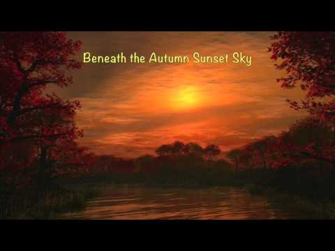 Beneath the Autumn Sunset Sky (Romantic Piano)