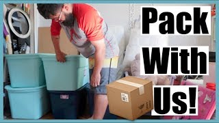 Pack With Me! Moving Prep to Texas! | August 30, 2018